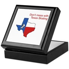 Texas Skate Keepsake Box