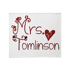 Mrs. Louis Tomlinson Throw Blanket