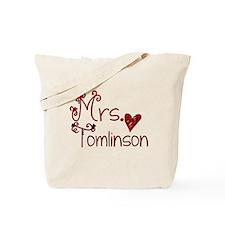 Mrs. Louis Tomlinson Tote Bag