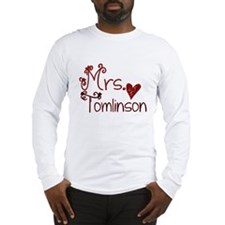 Mrs. Louis Tomlinson Long Sleeve T-Shirt