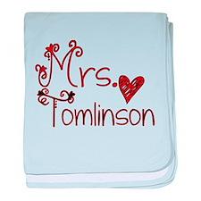 Mrs. Louis Tomlinson baby blanket