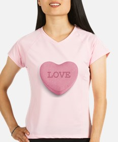 Candy Heart Performance Dry T-Shirt