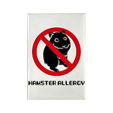Hamster Allergy Rectangle Magnet