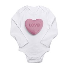 Candy Heart Baby Suit