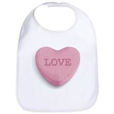 Candy Heart Bib