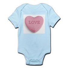 Candy Heart Infant Bodysuit