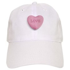 Candy Heart Baseball Baseball Cap