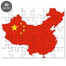 PRC flag map Puzzle