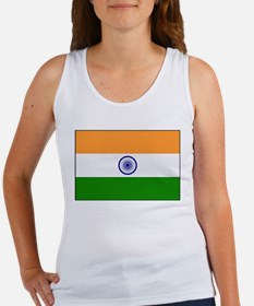 India - National Flag - Current Women's Tank Top