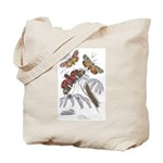 Moth Insects Tote Bag