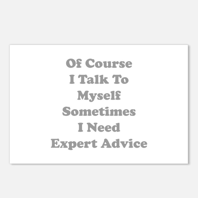 Sometimes I Need Expert Advice Postcards (Package