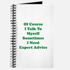 Sometimes I Need Expert Advice Journal