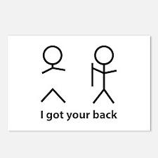 I got your back Postcards (Package of 8)