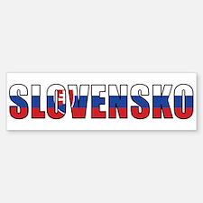 Slovakia Bumper Bumper Bumper Sticker