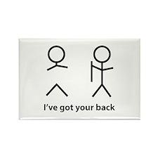 I've got your back Rectangle Magnet