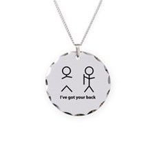 I've got your back Necklace