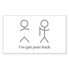 I've got your back Decal