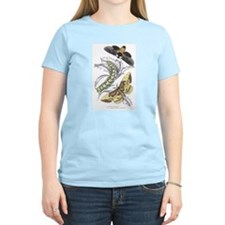 Moth Insects Women's Pink T-Shirt