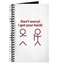 Don't worry! I got your back! Journal