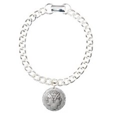 Ancient Coin with Janus Bracelet