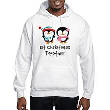 1st Christmas Together Penguin Jumper Hoody