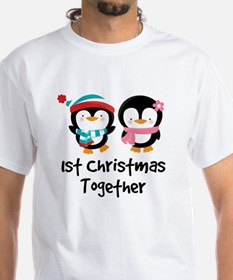 1st Christmas Together Penguin Shirt