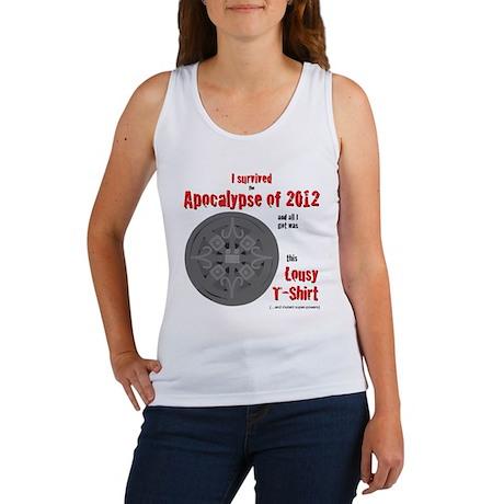Apocalypse Survivors Shirt Women's Tank Top