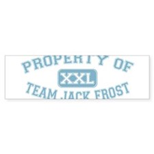Property of Team Jack Frost.png Bumper Sticker