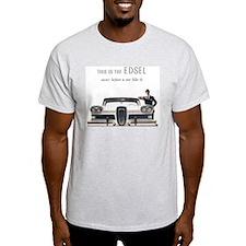 1958 Edsel Ash Grey T-Shirt