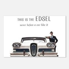 1958 Edsel Postcards (Package of 8)