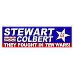 Stewart-Colbert 2008: Ten Wars!