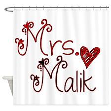 Mrs. Zayn Malik Shower Curtain