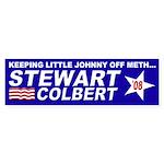 Keeping Little Johnny Off Meth Bumper Sticker
