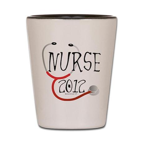 Nurse 2012 Announcement Shot Glass