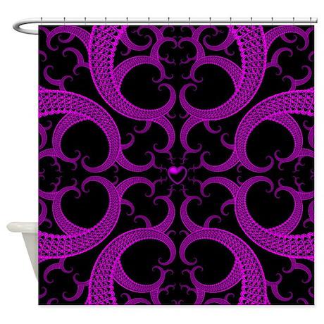 Marvelous Goth Shower Curtain Part - 13: CafePress