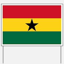 Ghana - National Flag - Current Yard Sign