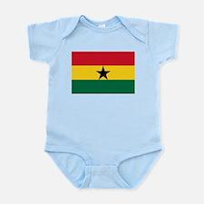 Ghana - National Flag - Current Infant Bodysuit