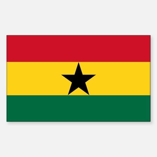 Ghana - National Flag - Current Decal