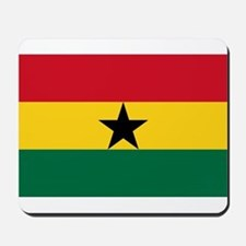 Ghana - National Flag - Current Mousepad