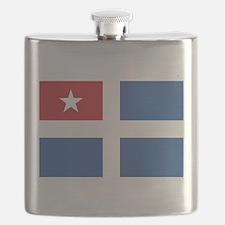 Flag of Crete Flask