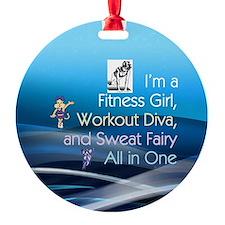 Workout Diva Ornament