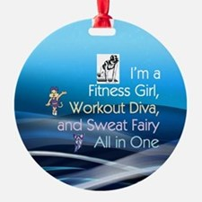 Workout Diva Ornament