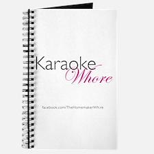 Karaoke Whore (w/logo) Journal