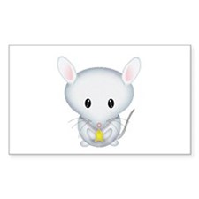 Little White Mouse Decal