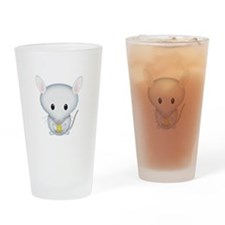 Little White Mouse Drinking Glass