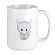 Little White Mouse Mug