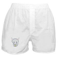 Little White Mouse Boxer Shorts