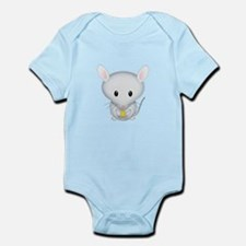 Little White Mouse Infant Bodysuit