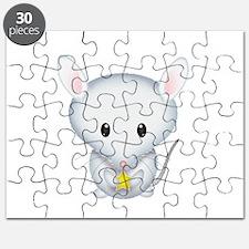 Little White Mouse Puzzle