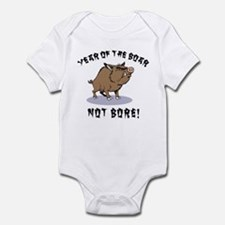 Year of The Boar Infant Creeper
